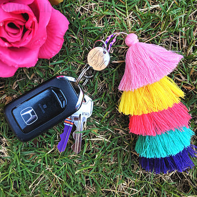 Ombre Key Chain