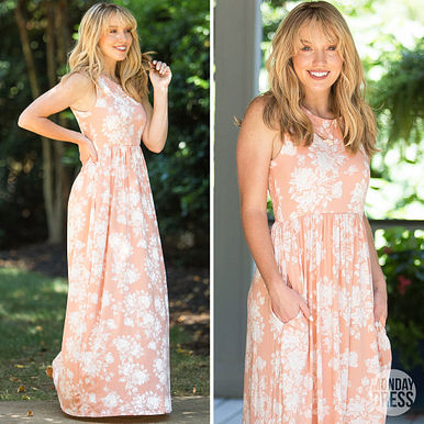 Dipped In Dreams Maxi Dress RESHOW