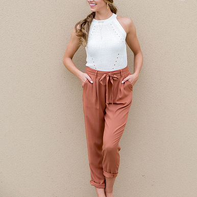 Stand By Me Pants in Rust