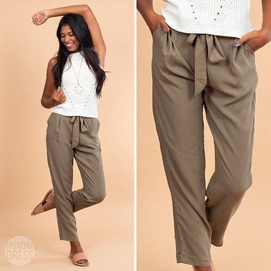 Stand My Me Pants in Olive