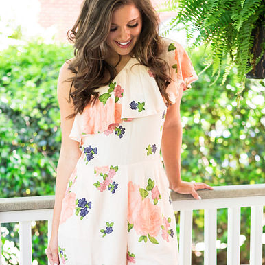 Everything To You Romper RESHOW