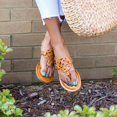 All That's Perfect Sandals in Tan