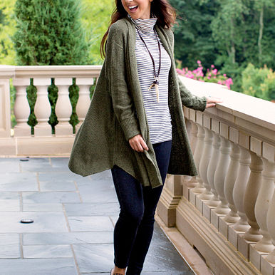Surrie Cardigan in Olive