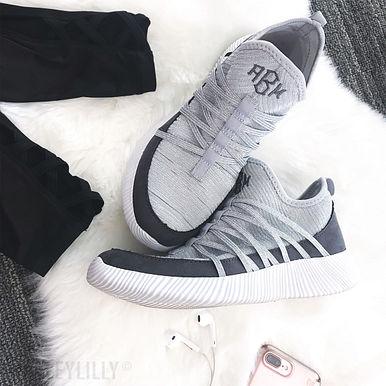 Monogrammed Athleisure Sneakers